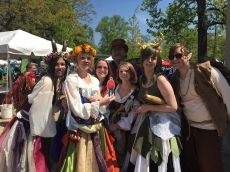 Earth Day STL, Ren Faire representatives.